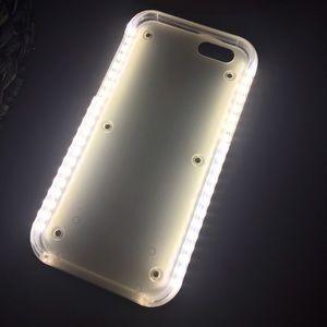 White light up case